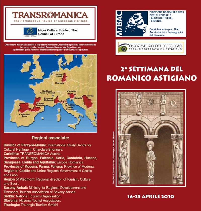 Pagina indice del programma settimana del romanico 2010 for Pdf del programma della casa